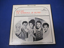 Mozart The Marriage Of Figaro; SIC-6002, 3 Records with Score