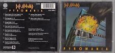 DEF LEPPARD - Pyromania CD 1987 W.GERMANY VERTIGO 810308-2 SWIRL