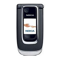 Klapphandy Nokia 6131 in schwarz-silber + neuwertig + foliert + ohne Simlock