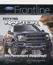 2017 FORD FRONTLINE MAGAZINE featuring the  2017 F-150 RAPTOR -- Oct/Nov 2016