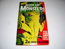 Famous Monsters of Filmland Paperback Book #2 Creature Frankenstein Dracula