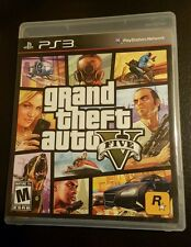 Grand Theft Auto 5 V (Sony Playstation 3) GTA 5 GTA V W/ Map (PS3)