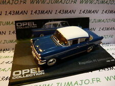 voiture 1/43 IXO eagle moss OPEL collection : Kapitän PI limousine 1958/1959