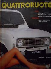 Quattroruote 322 1982 - Test Volkswagen Golf economica - Volvo 244    [Q36]