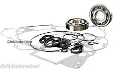 Kawasaki KX 125 (1998-2000) Engine Rebuild Kit, Main Bearings Gasket Set & Seals