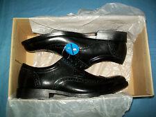 Clarks Men's Kovit Walk Dress Oxfords Size 8 Black Leather Waterproof 26118
