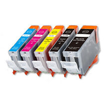 5PK Ink Cartridges for Canon PGI-5BK CLI-8 BK C M Y PGBK iP4300 iP4500 MP500