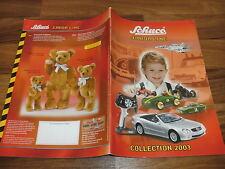 SCHUCO JUNIOR LINE -- Katalog Collection 2003 // Cars-Rennsport-Schiffe-Autos