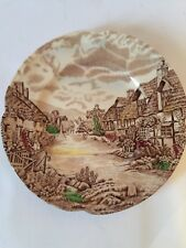 Olde English Country Side By Johnson Bros Dessert Plate, Made In England, EUC