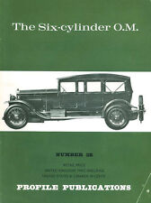 AUTOMOBILE PROFILE 38 THE SIX-CYLINDER O.M._OFFICINE MECCANICHE_SIX CYLINDER_R.F