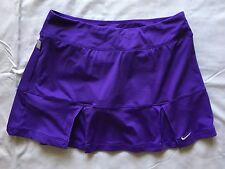 NIKE DRI-FIT PURPLE Pleated SKORT size M Tennis skirt/shorts FUN & FLIRTY A7