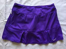 NIKE DRI-FIT PURPLE Pleated SKORT size M Tennis skirt/shorts FUN & FLIRTY A7