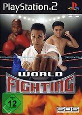 World Fighting - Wrestling Thai-Boxen für Sony Playstation 2 Ps2 Neu/Ovp