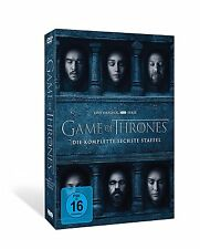 Game of Thrones - Staffel 6 [5 DVDs] *NEU* DEUTSCH Season 6 DVD GoT