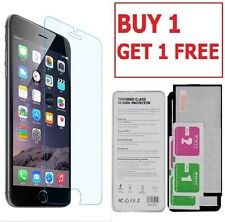 100% GENUINE TEMPERED GLASS LCD FILM SCREEN PROTECTOR FOR APPLE IPHONE 7 - NEW