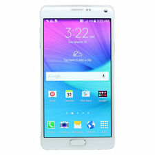 "Samsung Galaxy Note 4 WHITE SM-N910T 32GB T-Mobile 16MP Camera 5.7"" Screen"