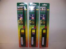 Lot of 3 REFILLABLE BUTANE GRILL BBQ LIGHTERS MULTI-PURPOSE LIGHTER 10.75""