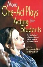 More One-Act Plays: Acting for Students : An Anthology of Short One-Ac-ExLibrary
