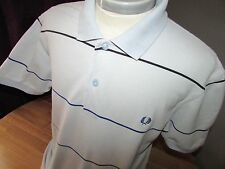 """Mens Large Fred Perry Designer Smart Polo T Shirt - 44"""" chest"""