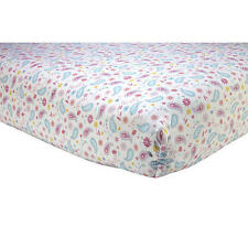 Crown Craft - Sadie Scout Paisley Crib Sheet, Pink
