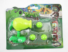 Plants vs Zombies Toys 2 Action Figures Popper tabletop game PVZ Peashooter
