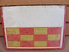 Vintage Punch Board NO ADVERTISING  Illegal Gambling Device BOX #PB-19 KH
