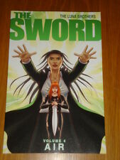 SWORD AIR THE LUNA BROTHERS VOL 4 IMAGE COMICS GN 9781607061687
