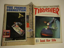 SKATEBOARD MAGAZINE THRASHER APRIL 1989 PORTLAND ROSKOPP BRANNON DANFORTH CCS 89