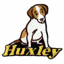 Iron-on Jack Russell Terrier Patch With Name Personalized Free