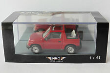 SUZUKI VITARA 1.6 JLX CABRIOLET RED 1995 NEO 44983 1/43 ROADSTER ROT ROUGE ROSSO