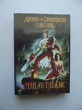 Army Of Darkness Card Game - Hail To The King NEW - SEALED- Out of Print