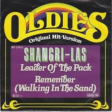 7 45 Shangri-Las - Leader of the Pack RARE Oldie Single NM Condition