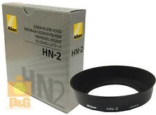 New Nikon HN-2 HN2 Lens Hood for 28mm f/2.8 35-70mm 24-70mm Lens