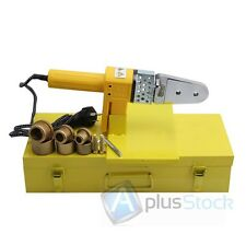 New Full Automatic Electric Pipe Welding Machine Heating Tool For PPR PE PP Tube