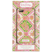 LILLY PULITZER Pink Green WATER WINGS Seashell I-Phone 5S 5 Phone Cover Case NIB