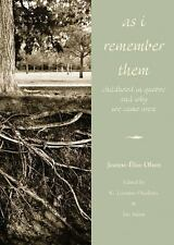 As I Remember Them: Childhood in Quebec and Why We Came West (Legacies-ExLibrary