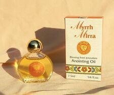 Myrrh Anointing Oil 1/4 oz Holy Bible Land Olive Oil Religious Spiritual Incense