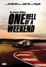 Le Mans 24hrs - One Hell of a Weekend (New DVD) Aston Martin David Brabham