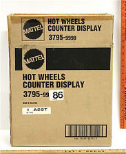 2 Vintage Hot Wheels Counter Displays For Diecast Cars Mattel #3795 New In Box