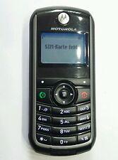 Motorola C118 - Schwarz Ohne Simlock Handy TOP ZUSTAND + ZUBEHÖHR