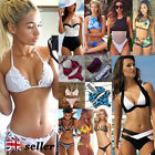 Womens Padded Bra Floral Swimsuit Beach Swimwear Bathing Bandage Push-up Bikini