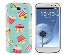 Schutzhülle f Samsung Galaxy S3 / neo Tasche Case Cover Kuchen Cupcake Muffin