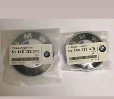BMW 82mm 74mm Conjunto De Arranque Insignia Emblema Capó Capó Tronco E30, E36, E46, 3,5,7,X Serie