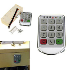Digital Electronic Password Keypad Number Cabinet Door Entry Code Locks Keyless