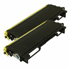 2 Pack TN-350 TN350 Toner Cartridge For Brother HL-2030 HL-2040 HL-2070N