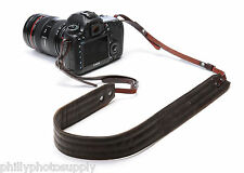 Ona Presidio Dark Truffle Leather Handcrafted Camera Straps - Free US Shipping