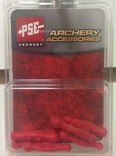 NEW PSE ARCHERY RED COLORED STRING SILENCER CHUBS FOR PSE BOW