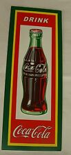 DRINK COCA COLA BOTTLE WOOD WALL SIGN NEW!!!