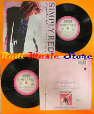 LP 45 7''SIMPLY RED If you don't know me by now Move on out 1989 italy cd mc dvd