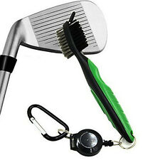 Golf Cleaner and Club Groove Brush Gift Set with Divot Tool New